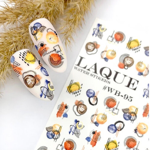 LAQUE #WB-95 Water Stickers