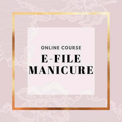 E-File Manicure Course Online