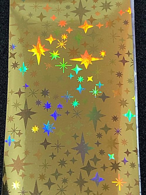 Gold Holo Transfer Foil 02