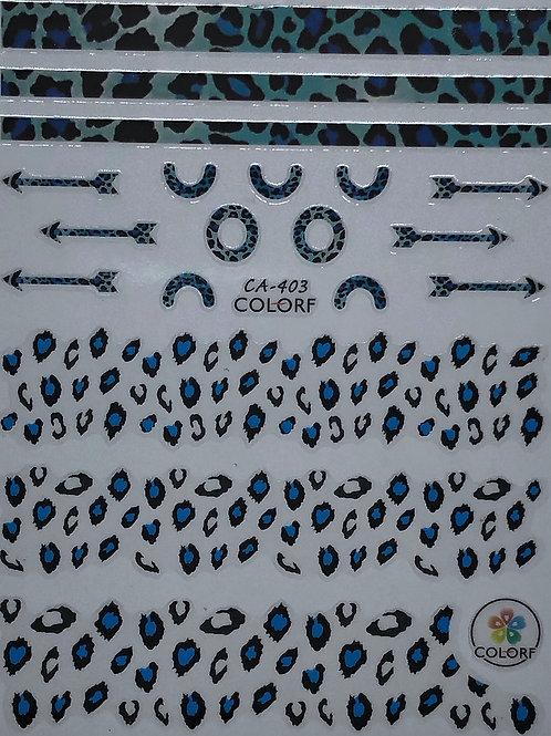 CA-403 3D Nail Decoration Sticker