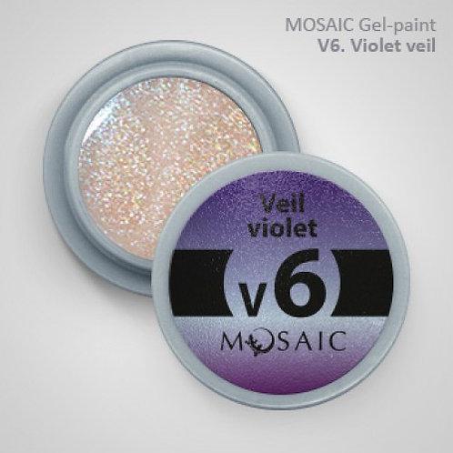"Mosaic ""Veil"" Violet"