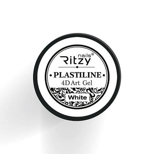 """PlastiLine 4D art gel """"White"""""""