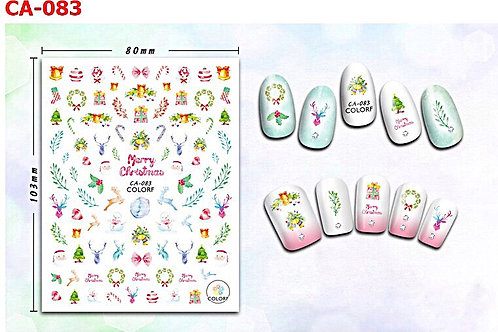 Christmas 3D Nail Stickers CA-083