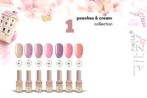 """C1 """"peaches & cream"""" 7 colours"""