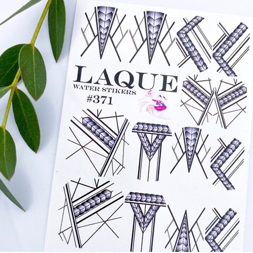 LAQUE #371 Water Stickers