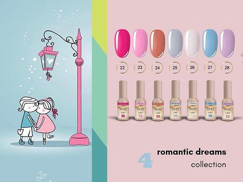 """C4 """"romantic dreams"""" 7 colours"""