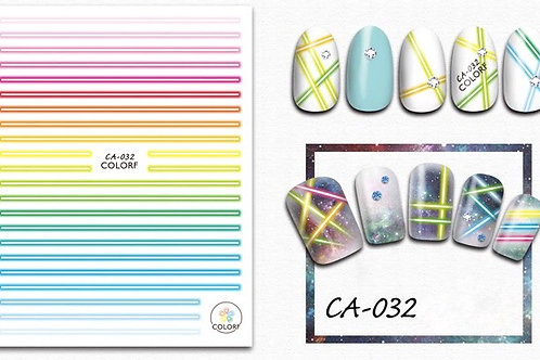 CA-032 3D Nail Decoration Stickers