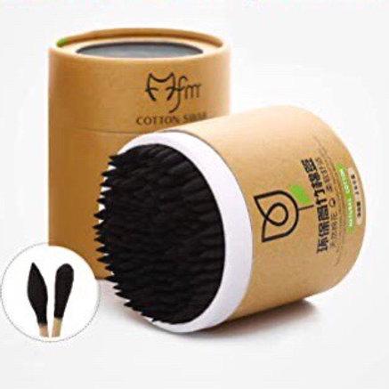 Organic Bamboo Cotton Swabs 200pcs