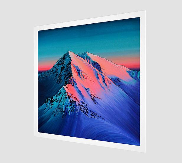 Alpenglow / Paper Print