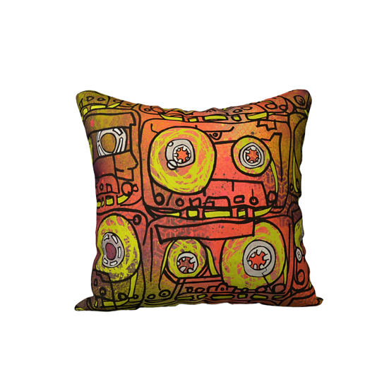 CASSETTES   pillow case