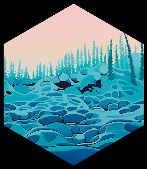 PILLOWS | hexagon magnet