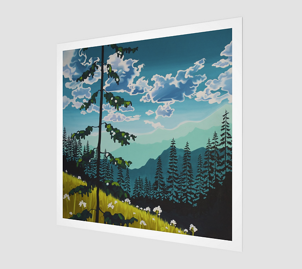 MOUNTAINS / Paper Print