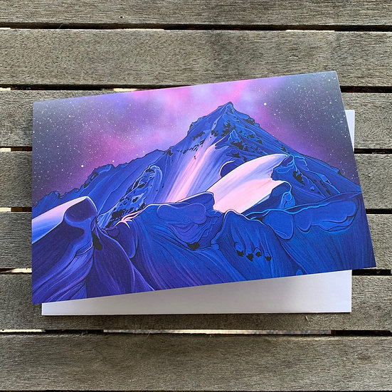 'Land of First Descents' greeting cards