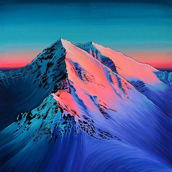 ALPENGLOW | canvas print