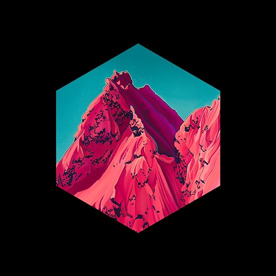 NEIGHBOURS | hexagon magnet