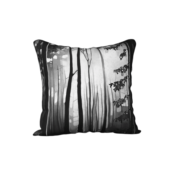 B&W FOREST | pillow case