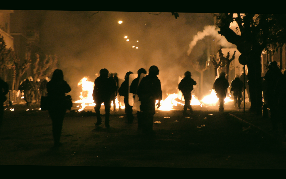 Riots in Exarchia