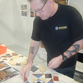 Q&A with one of the UK's leading restorers of historic floors - Steve Sinnott of Heritage Tiling