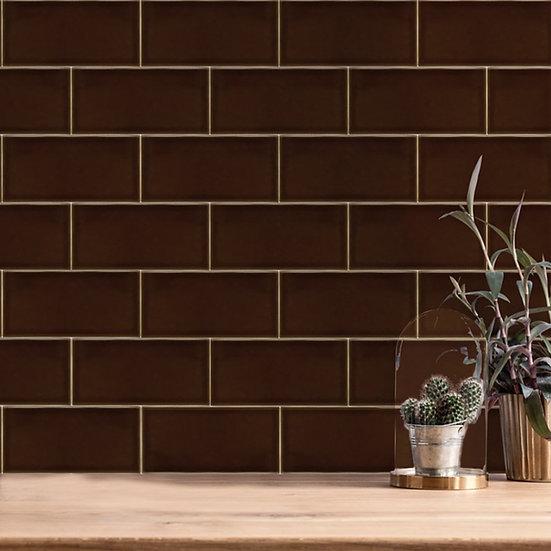 Teapot Brown Gloss Wall