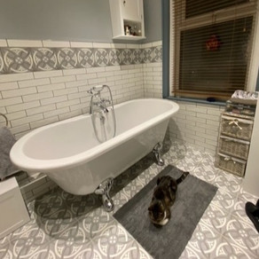 Creating a little bit of bathroom heaven