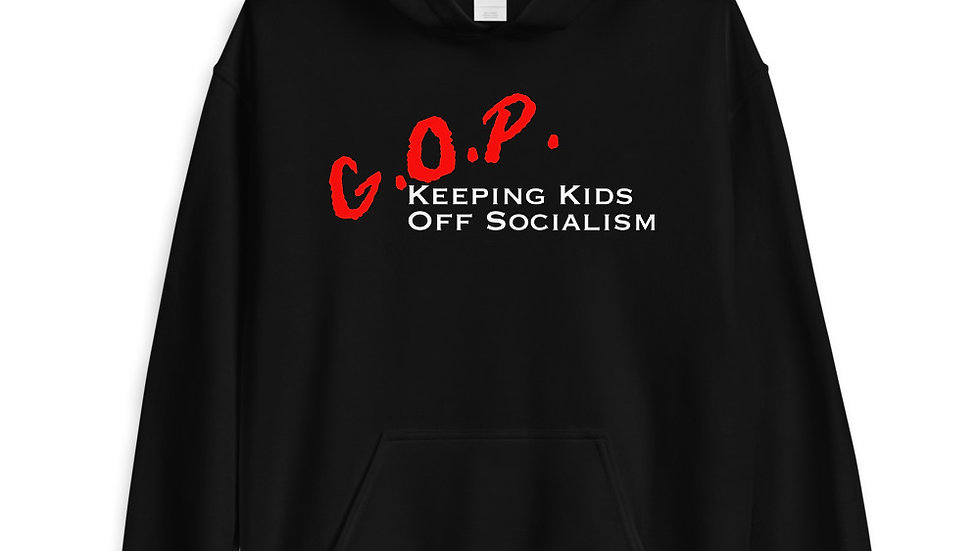 GOP Keeping Kids Off Socialism Hoodie