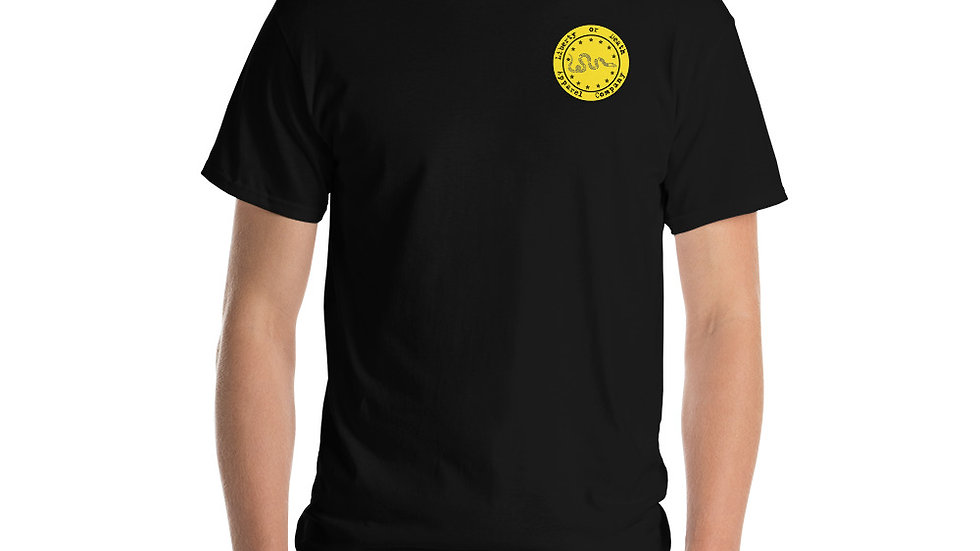 Black And Yellow Toxic Male T-Shirt