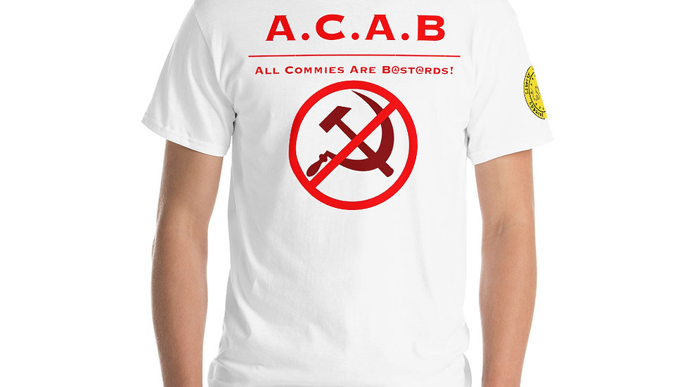 ACAB All Commies Are... Short Sleeve T-Shirt