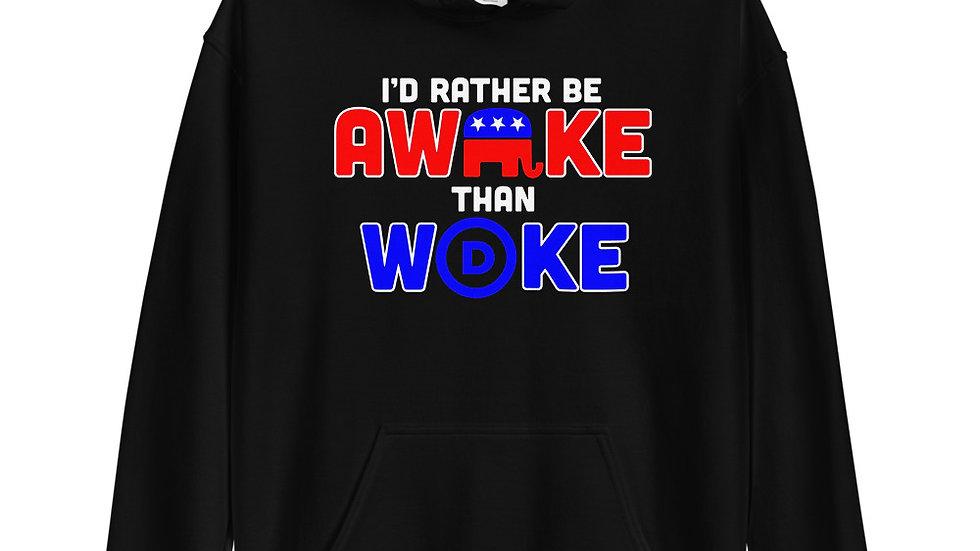 I'd Rather Be Awake Hoodie