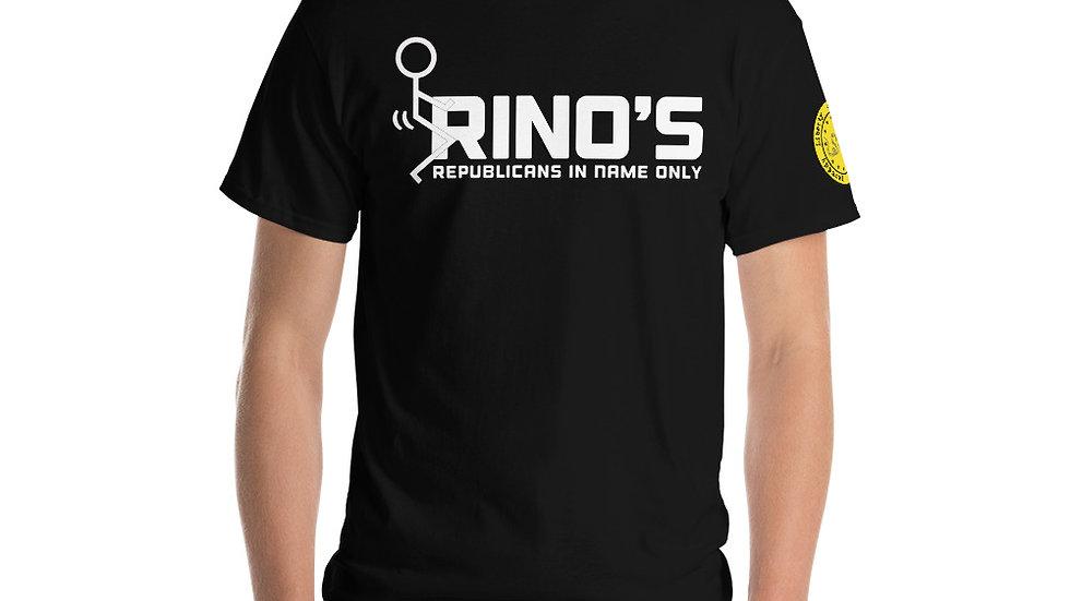 Screw RINOs Short Sleeve T-Shirt