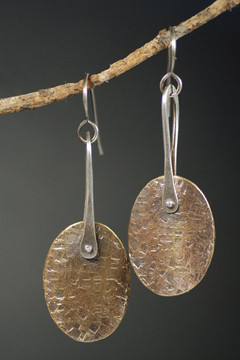 Earrings - Mixed Metals Workshop