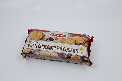 White Chocolate Gluten Free Cookies