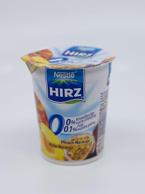 Hirz Jogurt 0% Fett Pfirsich & Maracuja 2x180g