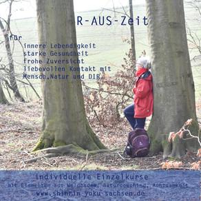 R-AUS-Zeit im Wald für Einzelpersonen, Paare und Familien