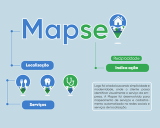Criação de logotipo personalizado Mapse