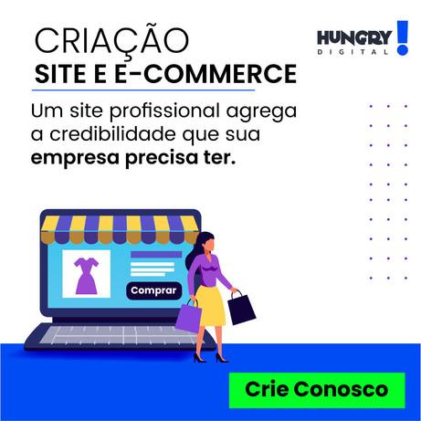 Criação de site e E-commerce