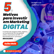 5 Motivos para investir em marketing digital.