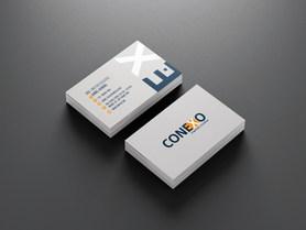 Cartão de Visita para empresa de engenharia Conexo