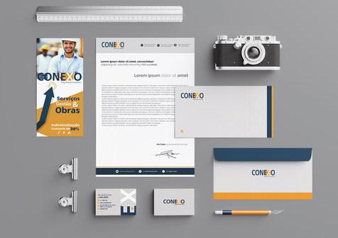 Identidade Visual para empresa de engenharia Conexo