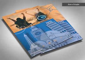 Flyer Agência de viagem Tempo Certo