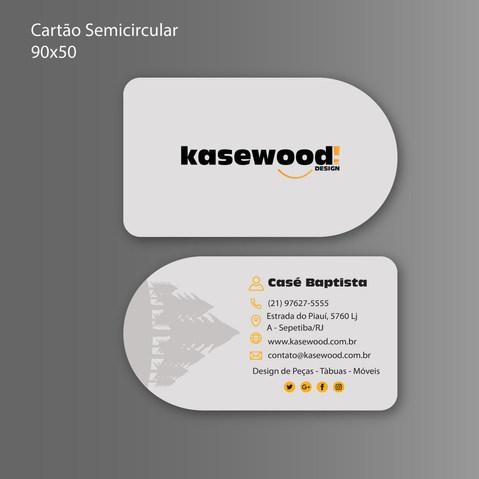 Cartão de Visita Marcenaria Criativa Kasewood