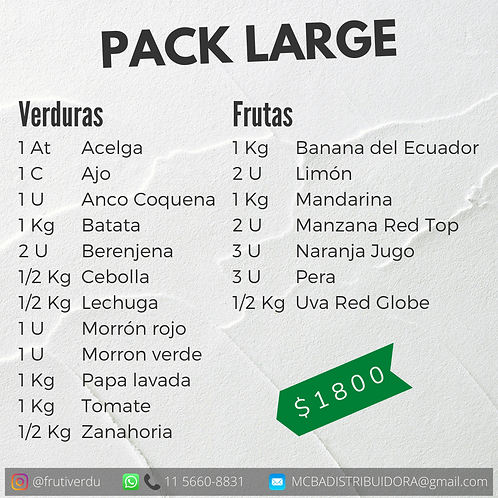 Pack Large