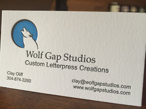 2 Color Business Cards
