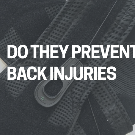 Back Belts, Do they Prevent Back Injuries?