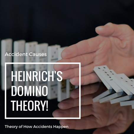 Theory Of What Causes Accidents: Heinrich's Domino Theory
