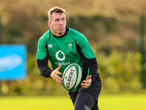 Ireland Name Team For This Weekends Clash
