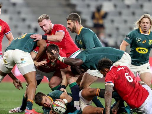 British & Irish Lions 22 - 17 South Africa: SCRUM RECAP