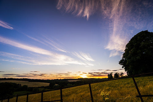 Chess Valley Sunset