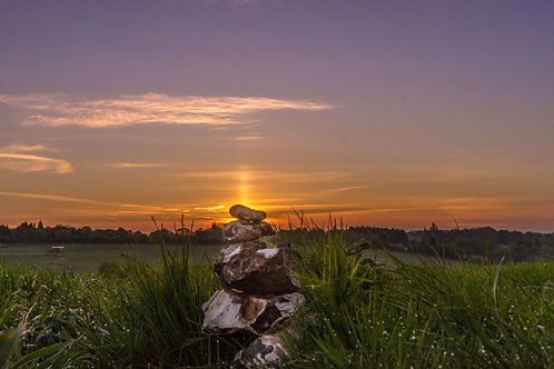 Flint Cairn Sunrise, Deadman's Ash