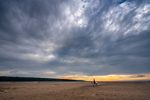 Holkham Beach sunset