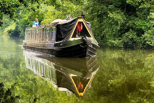 Canalboat, Cassiobury Park
